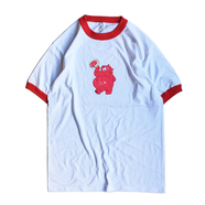 BENCH / KEEP CLEAN TRIM TEE (RED)