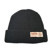 SATTA / MAKAHA BEANIE (BLACK)