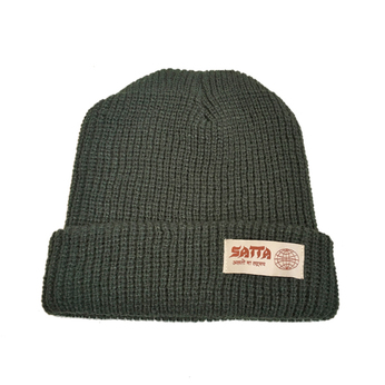 SATTA / MAKAHA BEANIE (OLIVE)