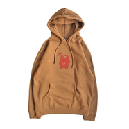 BENCH / KEEP CLEAN HOODY (BROWN)