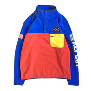 POLO RALPH LAUREN / HI TECH COLOR BLOCKED PULLOVER FLEECE