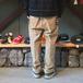 CHAPS / STRAIGHT CORDUROY PANTS (KHAKI)