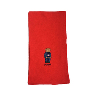 POLO RALPH LAUREN / POLO BEAR SCARF (RED)