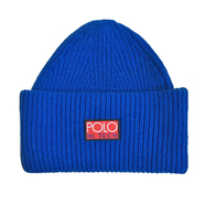 POLO RALPH LAUREN / HI TECH BEANIE (BLUE)
