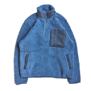 WOOLRICH / FLEECE PULLOVER JACKET (NAVY)