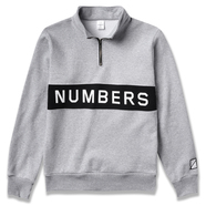 NUMBERS EDITION / WORDMARK FLEECE QUARTER-ZIP