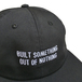 NOTHIN' SPECIAL / OUT OF NOTHING 6PANEL CAP (BLACK)