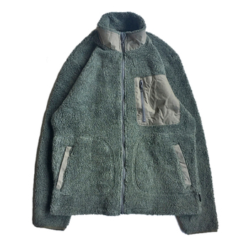 WOOLRICH / FLEECE ZIP UP JACKET (OLIVE)