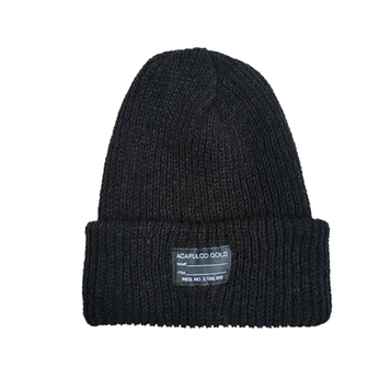 ACAPULCO GOLD / ARMY BEANIE (BLACK)