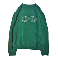 THE DECADES HAT / 3M OVAL LOGO CREW NECK (GREEN)