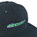 THE DECADES HAT / FAT LOGO CORDUROY CAP (BLACK)