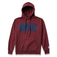 NUMBERS EDITION / UPRIGHT FLEECE HOODIE