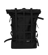 BRAASI INDUSTRY / WEBBING BACKPACK (BLACK)