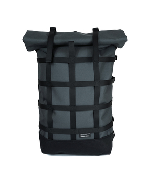 BRAASI INDUSTRY / WEBBING BACKPACK (GREY)