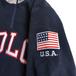 POLO RALPH LAUREN / USA HALF ZIP FLEECE (NAVY)