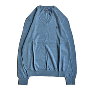 POLO RALPH LAUREN / V NECK SWEATER (LT.BLUE)