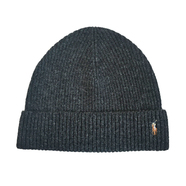 POLO RALPH LAUREN / POLO PONY BEANIE (CHARCOAL)