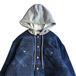 WRANGLER / FLANNEL SHIRT JACKET (BLUE)