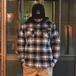 WRANGLER / FLANNEL SHIRT JACKET (BLUE)