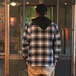 WRANGLER / FLANNEL SHIRT JACKET (BLACK)