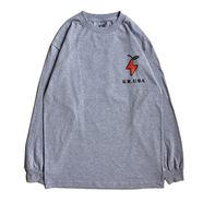 KR USA / AM LS TEE (GREY)