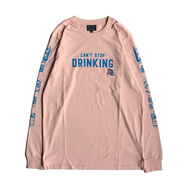 ACAPULCO GOLD /  BEER CAN LS TEE (PINK)