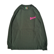 BEDLAM / PLANET LS TEE (FOREST GREEN)