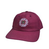 BEDLAM / TARGET CAP (BURGUNDY)