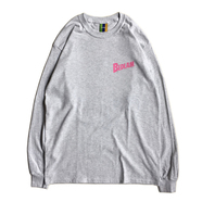 BEDLAM / PLANET LS TEE (ASH GREY)