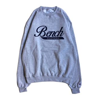 BENCH / LOGO CREW NECK (GREY)