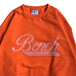 BENCH / LOGO CREW NECK (ORANGE)