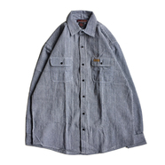 [deadstock] FIVE BROTHER / HICKORY LS SHIRT