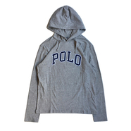POLO RALPH LAUREN / POLO HOODED LS TEE (GREY)