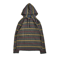 POLO RALPH LAUREN / BORDER HOODED LS TEE (GREY)