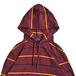 POLO RALPH LAUREN / BORDER HOODED LS TEE (MAROON)