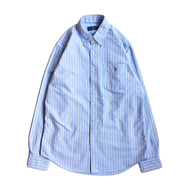 POLO RALPH LAUREN / STRIPE BUTTON SHIRT