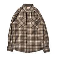 WRANGLER / FLANNEL SHIRT (COFFEE)