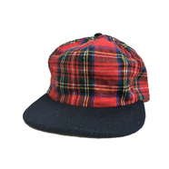 [deadstock] BRONER / WOOL CHECK CAP