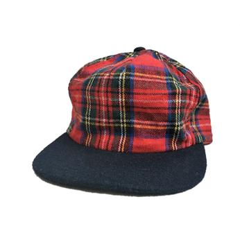 [deadstock] BRONER / WOOL CHECK CAP