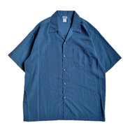 CALTOP / DRESS CAMP SHIRT (SAGE BLUE)