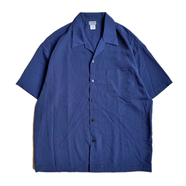 CALTOP / DRESS CAMP SHIRT (NAVY)