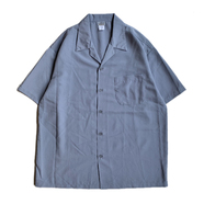 CALTOP / DRESS CAMP SHIRT (GREY)
