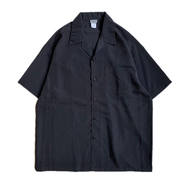 CALTOP / DRESS CAMP SHIRT (BLACK)