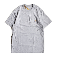 CARHARTT USA / WORKWEAR POCKET TEE (HEATHER GREY)