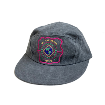 [deadstock] LEVI'S / CHEMICAL 5 PANEL CAP (BLACK)