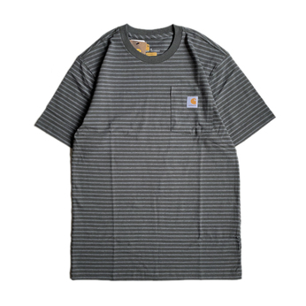 CARHARTT USA / BORDER POCKET TEE (GREEN)