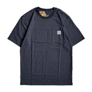 CARHARTT USA / BORDER POCKET TEE (BLACK)