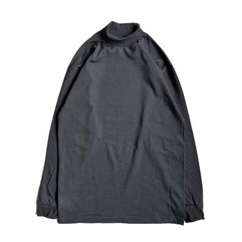 PRO CLUB / MOCK NECK LS TEE (BLACK)