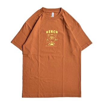BENCH / URIBO TEE (TEXAS ORANGE)