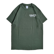 DAVE'S NEW YORK / LOGO TEE (GREEN) - XXL